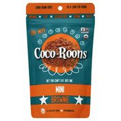 Coco Roons Snack, Brownie, Mini, Pouch