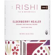 Rishi Tea Tea, Organic, Caffeine-Free, Elderberry Healer, Loose