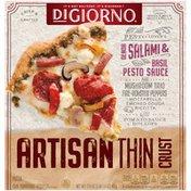DiGiorno ARTISAN THIN CRUST Pesto Lover's Frozen Pizza