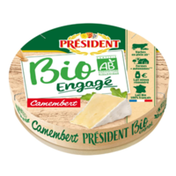 Président La Fromagerie Bio Camembert Cheese