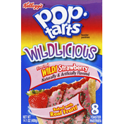 Pop-Tarts Toaster Pastries, Frosted Wild Strawberry