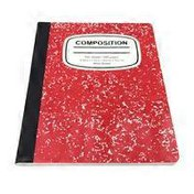 Pallex Colored Wide Ruled Composition Book