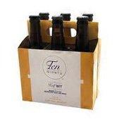 Ten Ninety Brewing Company Half Wit Belgian Style Ale