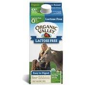 Organic Valley Fat Free Lactose Free Milk