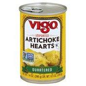 Vigo Artichoke Hearts, Quartered, Can
