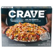 Crave Pulled Chicken Burrito Bowl