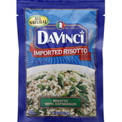 DaVinci Risotto, with Asparagus