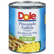 Dole Tidbits For Pizza In Light Syrup Foodservice Pineapple
