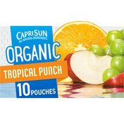 Capri Sun Tropical Punch Naturally Flavored Juice Drink Blend