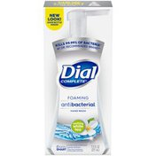 Dial Complete Antibacterial Foaming Hand Wash, Soothing White Tea
