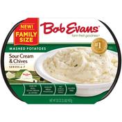 Bob Evans Sour Cream & Chives Mashed Potatoes