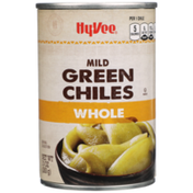 Hy-Vee Mild Whole Green Chiles