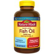 Nature Made Burpless Fish Oil 1000 mg Softgels