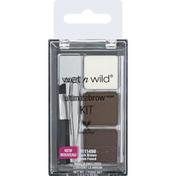 wet n wild Brow Kit, Dark Brown 1111498