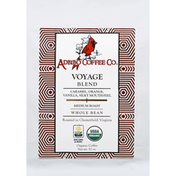 Adbibo Coffee Coffee, Organic, Whole Bean, Medium Roast, Voyage Blend