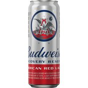 Budweiser Discovery Reserve American Red Lager Beer Can