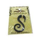Coco Loco Jewel Splt Expndrs-Wd/L.Blk
