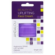 Andalou Naturals Face Cream, Beauty is Uplifting