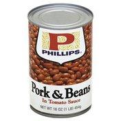 Philips Pork & Beans, in Tomato Sauce