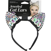 Fun World Cat Ears, Jeweled
