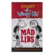 Mad Libs Diary of a Wimpy Kid