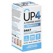 UP4 Probiotics, Vegetable Capsules