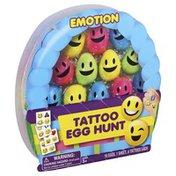 Mello Smello Tattoo Egg Hunt, Emotion