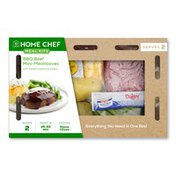 Home Chef BBQ Beef Mini-Meatloaves Meal Kit