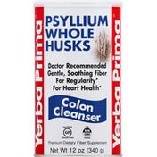 Yerba Prima Psyllium Whole Husks, Colon Cleanser
