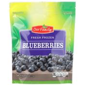 Our Family Fresh Frozen Blueberries