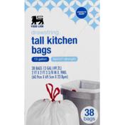Food Lion Tall Kitchen Bags, Drawstring, Flextra-Strength
