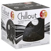 Chillout USB Fan, Portable Electric