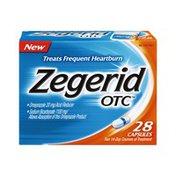 Zegerid OTC Hearthburn Relief Capsules - 28 CT