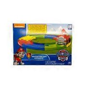 Nickelodeon Spin Master Paw Patrol Playset With Track & One Vehicle