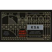 Fort Point Beer, Kolsch Style Ale, KSA