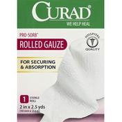 CURAD Gauze, Rolled, Pro-Sorb