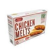 Sandwich Bros. CHICKEN MELTS Flatbread Pocket Snack Sandwiches