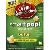 Orville Redenbacher's Popping Corn, Gourmet, Butter, Single Serve Bags
