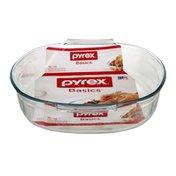 Pyrex Basics Glass Bakeware 4 QT Roaster