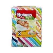 Huggies Natural Care Wipes - 3 PK