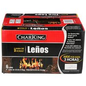 CharKing 3 Hour Flame Fire Logs