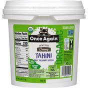 Once Again Tahini, Unsweetened, Creamy