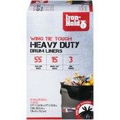 Iron Hold Wing Tie Tough Heavy Duty 55 Gallon Iron-Hold Wing Tie Tough Heavy Duty 55 Gallon Drum Liners
