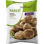 Just Bare Homestyle Natural Chicken Meatballs - Fully Cooked