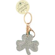 Olivia Moss Tassel Keychain, Sparkling Shamrock