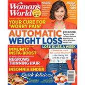 Woman's World Magazine, Automatic Weight Loss, May 17, 2021,  $2.49