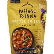 Passage to India Simmer Sauce, Butter Chicken
