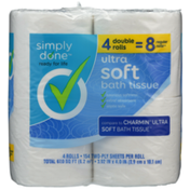 Simply Done Ultra Soft Bath Tissue Double Rolls