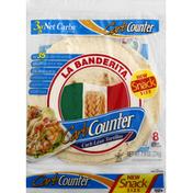 La Banderita Flour Tortillas, Snack Size