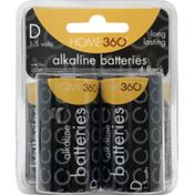 Home 360 D Alkaline Batteries